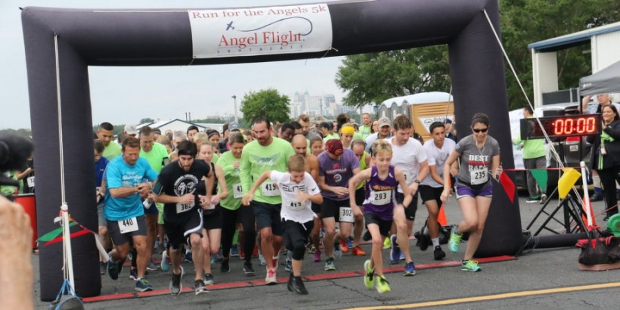 Join Us at The Angel Flight Run for the Angels 5K